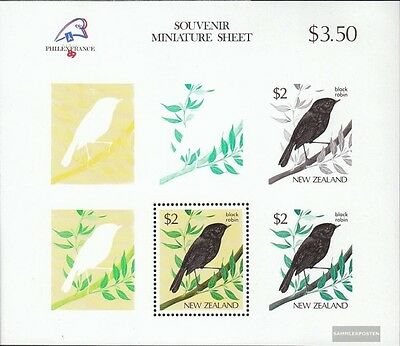 New Zealand block18 (complete issue) unmounted mint / never hinged 1989 PHILEXFR