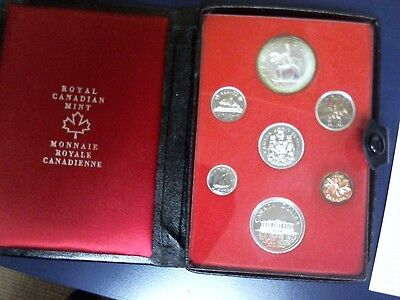 Canada 1973 Royal Canadian Mint Proof Set w/ Silver Dollar