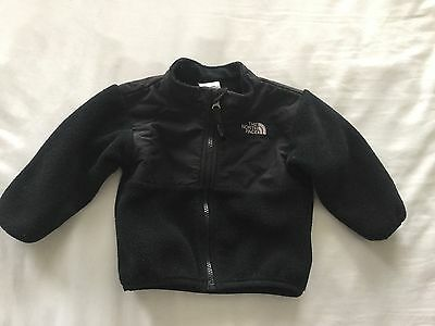 The North Face Toddler Baby Black Zip Up Jacket Size 6-12 Months