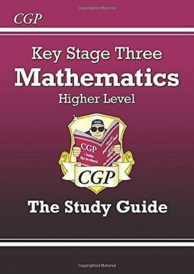 KS3 Maths Study Guide - Higher: Levels 5-8 by Richard Parsons New Paperback Book