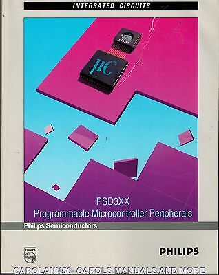 PHILIPS Data Book 1993 PSD3XX Programmable Microcontroller Peripherals