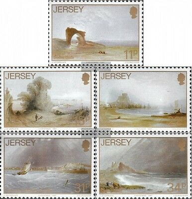 united kingdom-Jersey 420-424 (complete issue) unmounted mint / never hinged 198