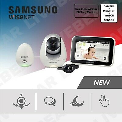 SEW-3057W - Samsung 5in. Wireless Touch Screen Baby Monitor Night Vision & PTZ