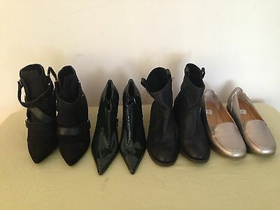 Lot of 4 Womens Shoes Size 7
