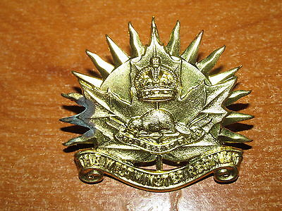 WW2 Canadian Cap Badge Westminster Regiment nice