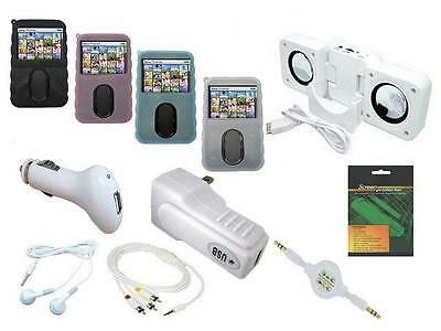 11 Item Accessory Bundle Combo Kit Set for Creative Zen Vision M 30GB MP3 Player