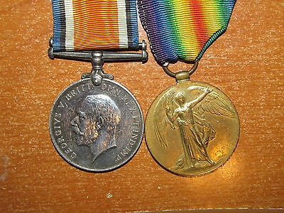 WW1 British Medal Group named to Denerley nice