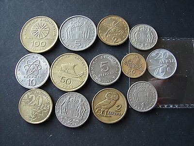 13 coins from Greece