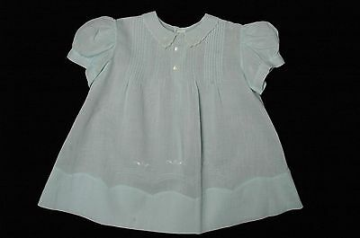 Vintage Blue Baby Dress, 1940s to 1960s