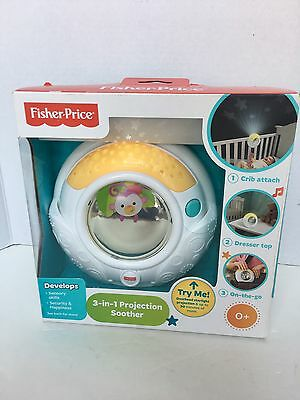 Fisher-Price 3-in-1 Projector Soother New In Box