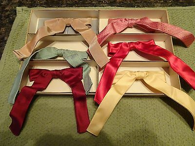 Vintage Western Bowtie Lot 1950's Old Store Stock