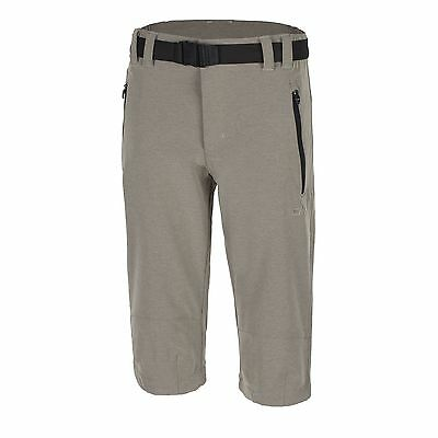 CMP Multi sport pants Functional pants Shorts beige UV protection Stretch