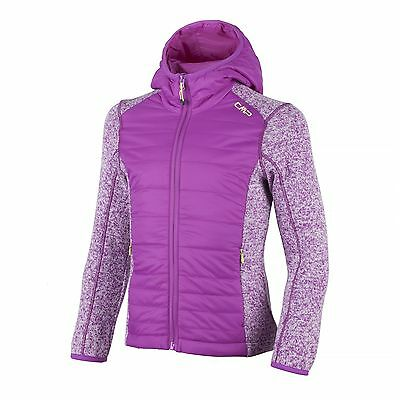 CMP Functional Fleece Jacket Quilted jacket pink KnitTech beady off