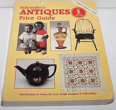 Collector Book Price Guide 1990 Schroeder's Antiques Price Guide