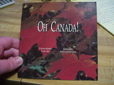 1997 Canada Centennial 7 Coin Uncirculated Collector Mint Set