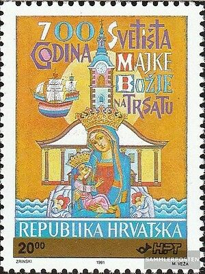 Croatia 185 mint never hinged mnh 1992 Postage stamp