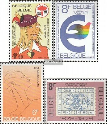 Belgium 1975,1976,1980,1981 mint never hinged mnh 1979 special stamps
