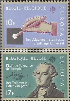 Belgium 2100-2101 (complete issue) unmounted mint / never hinged 1982 Historical