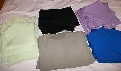 Large LOT of 5 Amish or Mennonite Dresses, Cape Style, 4 with separate aprons