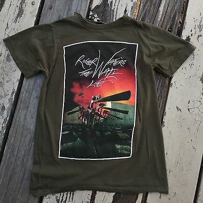 ROGER WATERS of Pink Floyd THE WALL LIVE TOUR 2012 • Women's T-Shirt size SMALL