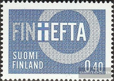Finland 619 (complete issue) unmounted mint / never hinged 1967 EFTA