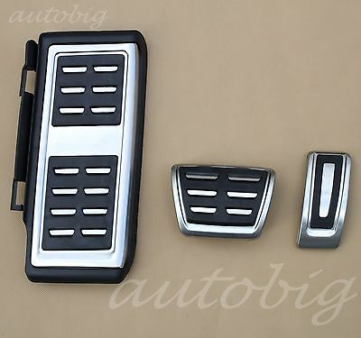 No Drill Foot Pedal Rest Gas Brake For VW GOLF 7 GTI MK7 Accelerator Accessories