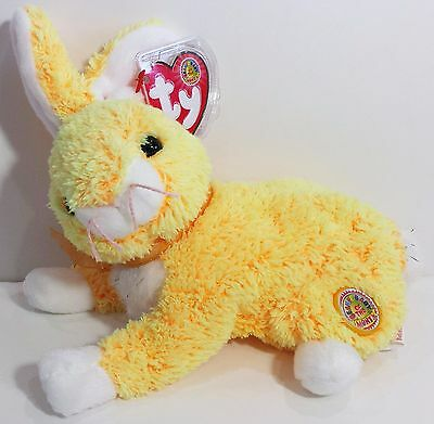 """TY Beanie Baby """"BUTTERCREAM"""" April 2003 BBOM EASTER BUNNY RABBIT - MWMTs! GIFT!"""