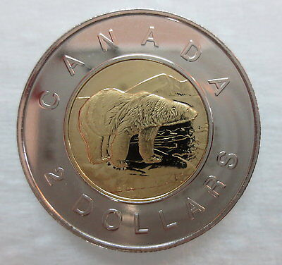 1999 Canada Toonie Proof-Like Two Dollar Coin