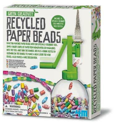 Green Creativity - Recycled Paper Beads - 4M Free Shipping!