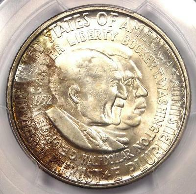 1952-S Washington-Carver Silver Half Dollar 50C - PCGS MS66 - $450 Value!