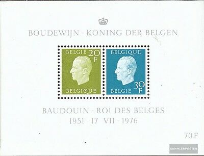 Belgium block45 (complete issue) unmounted mint / never hinged 1976 King Baudoui