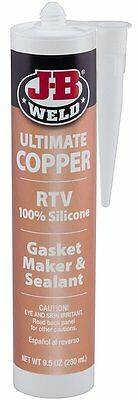 JB Weld 32925 Ultimate Copper High Temp RTV Silicone Gasket Maker/Sealant 9.5 oz