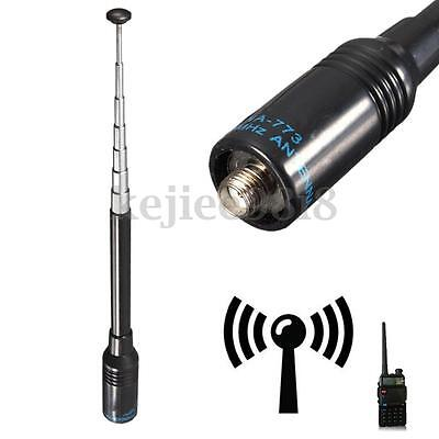 40CM Nagoya NA-773 UV Dual Band Antena Gain 2.15dB Para Baofeng Two Way Radio