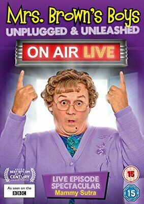 Mrs Brown's Boys: Unplugged & Unleashed - On Air Live [DVD] - DVD  6OVG The