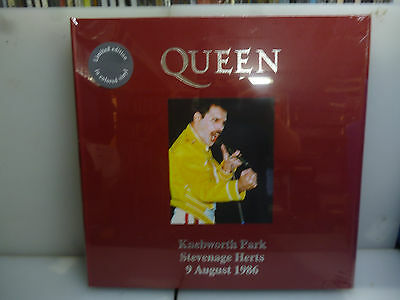 Queen-Knebworth Park, Uk 1986-3Lp Grey Vinyl Hardcover Boxset-New Sealed