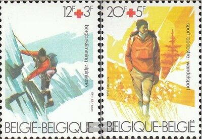 Belgium 2134-2135 (complete issue) unmounted mint / never hinged 1983 Red Cross