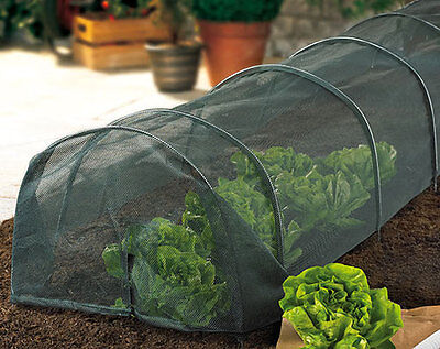 grow net 3m  tunnels poly tunnel netting cover plant vegetable allotment garden