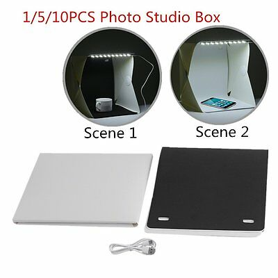 1/5/10pcs Mini Size Photo Studio Box Photography Studio Photo Box Lot KK