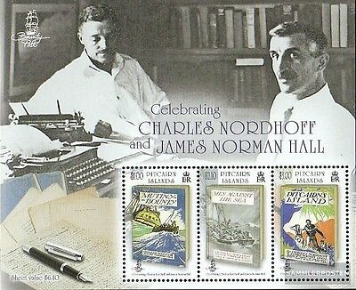 Pitcairn block62 mint never hinged mnh 2013 Nordhoff and Hall
