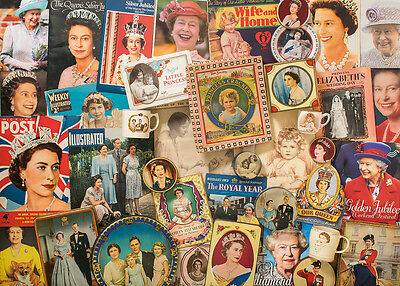 Gibsons Our Glorious Queen  1000 Pcs Jigsaw Puzzle