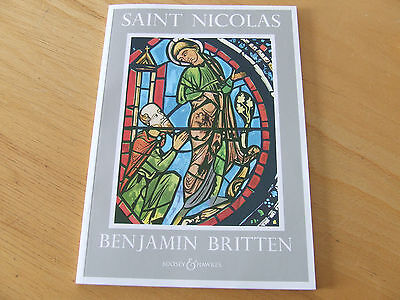 Saint Nicolas Benjamin Britten op. 42 for Tenor Mixed Chorus and Orchester