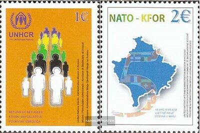 kosovo (UN-Administration) 18-19 mint never hinged mnh 2004 NATO+KFOR-Troops in