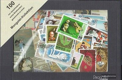 Mongolia 100 different stamps