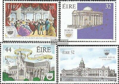 Ireland 755-758 (complete issue) unmounted mint / never hinged 1991 Dublin Corpo