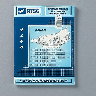 TCI AUTOMOTIVE 893001 Transmission Technical Overhaul Manuals