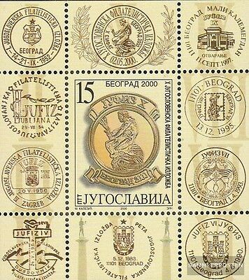Yugoslavia block49 mint never hinged mnh 2000 JUFIZ X