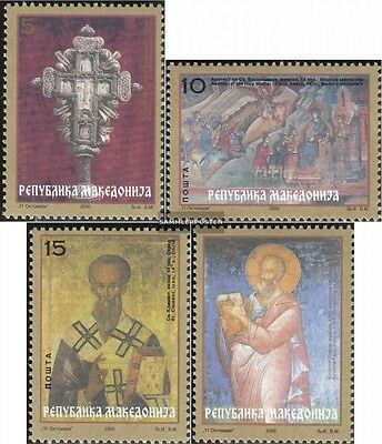 makedonien 182-185 mint never hinged mnh 2000 2000 years Christianity