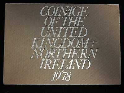 1978 Coinage of the United Kingdom and Northern Ireland Proof Set