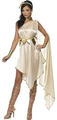 Ladies Sexy Roman Greek Goddess Toga Party Carnival Fancy Dress Costume Outfit