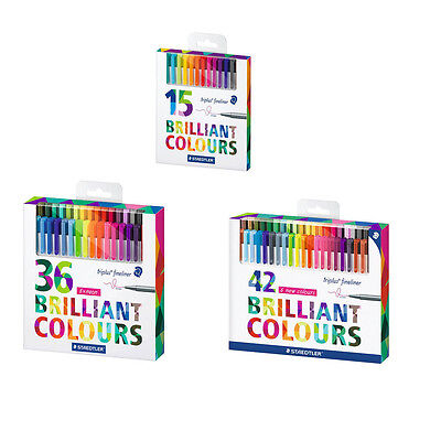 STAEDTLER triplus Fineliner farbsortiert Brilliant Colours